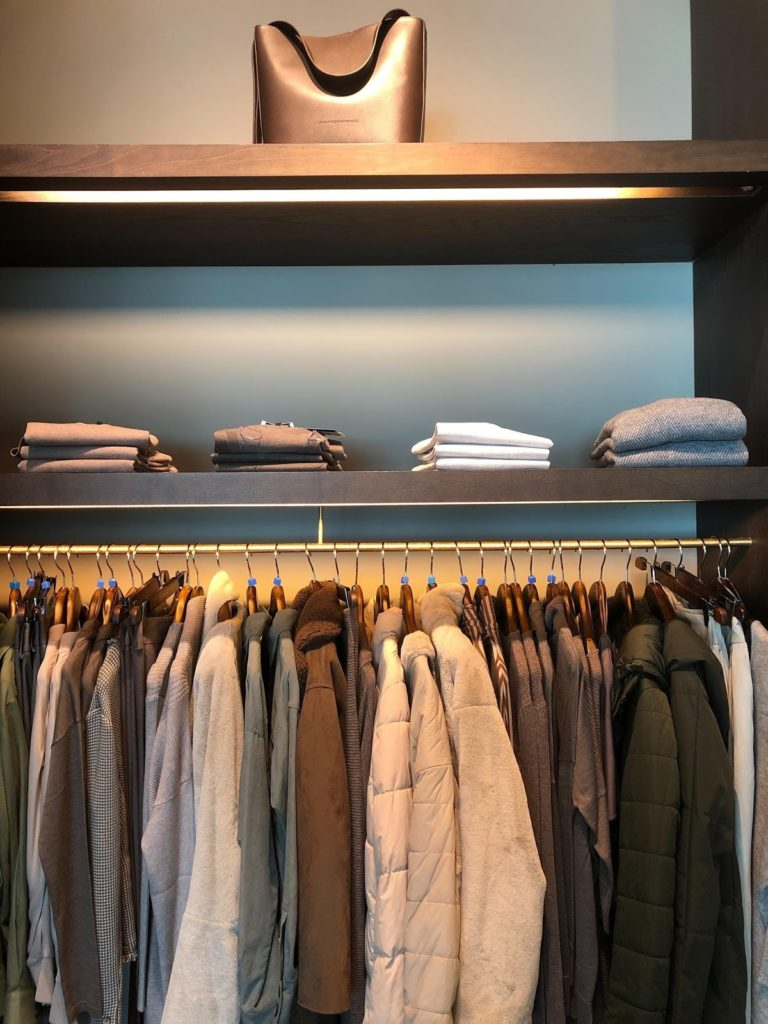 a neat and tidy closet